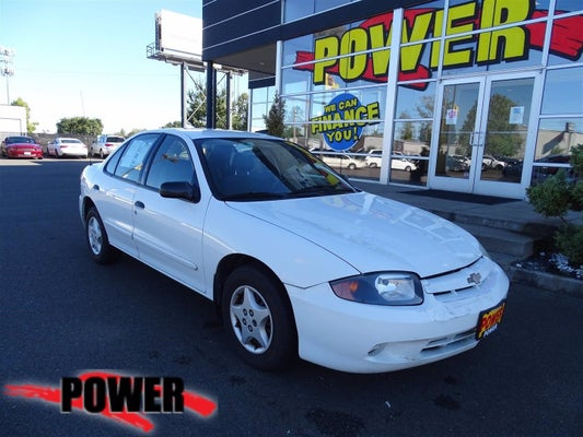 2003 chevrolet cavalier 4dr sdn sublimity or oregon 1g1jc52f337369997 power auto group